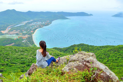 Du lịch Côn Đảo - Đắm say cảnh đẹp tựa tranh họa ở Mũi Tàu Bể